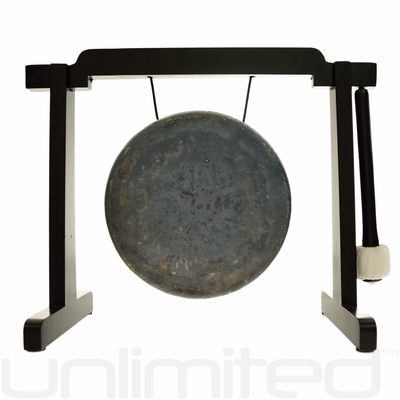 """7"""" Mother Tesla Gong on Tiny Atlas Stand - Black - FREE SHIPPING"""
