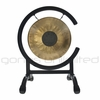 """8"""" Chocolate Drop Gong on High C Gong Stand - FREE SHIPPING"""