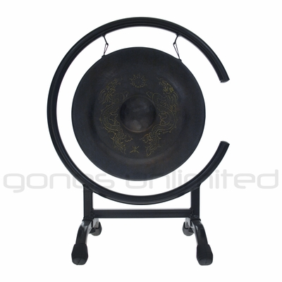 "9"" Vietnamese Dragon Gong on High C Gong Stand  - FREE SHIPPING"