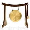 """6"""" Wind Gong on the Lifting Buddha Stand - FREE SHIPPING"""