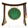 """7"""" 420 Gong on the Lifting Buddha Stand - FREE SHIPPING"""