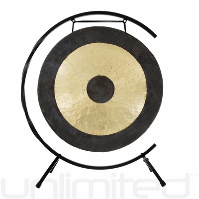 """22"""" Chau Gong on Paiste Floor Gong Stand"""