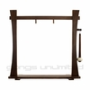"""20"""" to 22"""" Gongs on the Spirit Guide Gong Stand - FREE SHIPPING"""