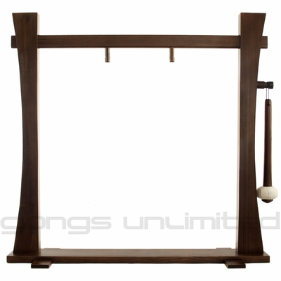 """18"""" Gongs on the Spirit Guide Gong Stand - FREE SHIPPING"""