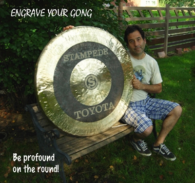 """Engrave Gongs up to 48"""""""
