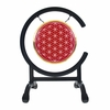 "7"" Red Flower Of Life Gong on High C Gong Stand - FREE SHIPPING"