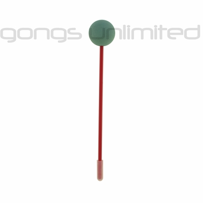 Green Friction Gong Mallet by TTE Konklang - Long Handle (3LAC) - SOLD OUT
