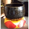 """Imperfect 7"""" Black Ching Bowl - FREE SHIPPING"""