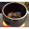 """Imperfect 10"""" Black Ching Bowl - C  - FREE SHIPPING"""