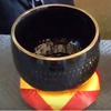 """Imperfect 10"""" Black Ching Bowl - D - FREE SHIPPING"""