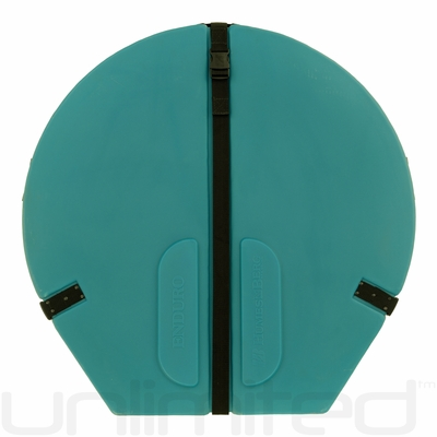 "IN STOCK! Humes & Berg Hard Enduro Gong Case WITH PRO LINING for 32"" Gongs (TEAL)"