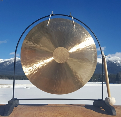 "22"" Brisk Wind Gong on the Super Love Gong Stand  - FREE SHIPPING"