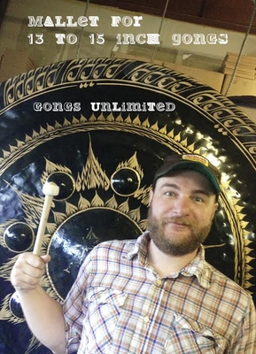 """One Gongs Unlimited Gong Mallet for 13"""" to 15"""" Gongs"""