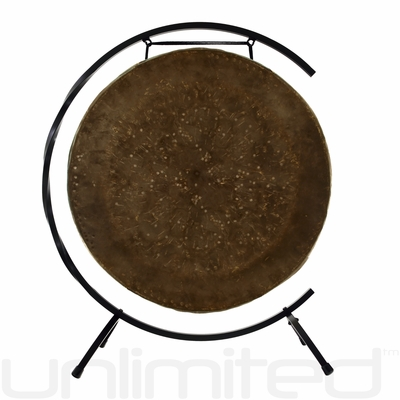"""22"""" Mother Tesla Gong on Paiste Floor Gong Stand"""