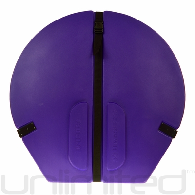 "Humes & Berg Hard Enduro Gong Case WITH PRO LINING for 28"" Gongs (PURPLE)"