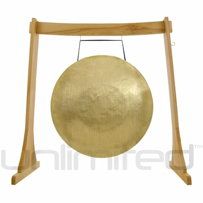"""SOLD OUT! Sabian 34"""" Taiwanese Gong & Imperfect Unlimited Revelation Stand- FREE SHIPPING"""