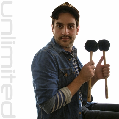 Pair of Innovative Percussion FBX-5S Bass Drum Mallets - Great for Gongs!