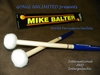 Pair of Intergalactic Mike Balter WP3 World Percussion Mallets