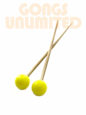 Pair of Yellow Rocky Mountain Superball Mallets