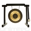 Various Gongs on the Black Tiny Atlas Gong Stand