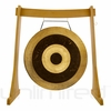 "32"" Subatomic Gong on the Unlimited Revelation Gong Stand - FREE SHIPPING"