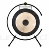 """24"""" Chau Gong on the  Meinl Table Top Gong Stand (TMTGS-XL)"""