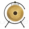 "26"" Chocolate Drop Gong on the Meinl Table Top Gong Stand (TMTGS-XL)"