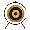 "26"" Subatomic Gong on the Meinl Table Top Gong Stand (TMTGS-XL)"