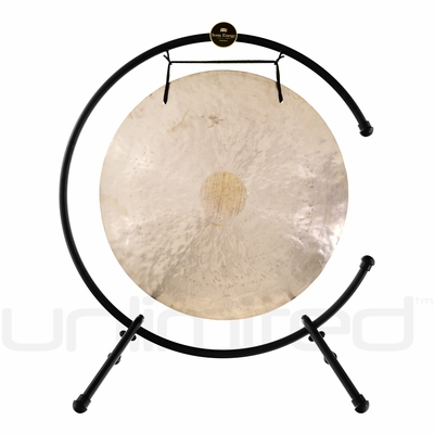"""26"""" Wind Gong on the Meinl Table Top Gong Stand (TMTGS-XL)"""