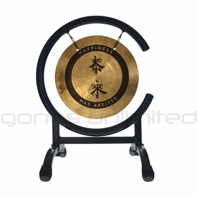 """8"""" Tai Loi Wind Gong on High C Gong Stand"""