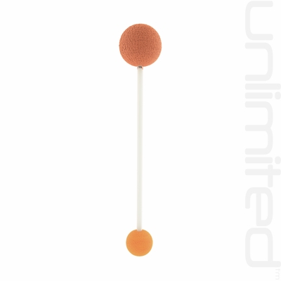 Terra and Orange  Edition KK-4b+1a Friction Mallet by TTE Konklang