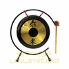 """The 7"""" Shiny Table Tai Loi Gong on Gong Stand"""
