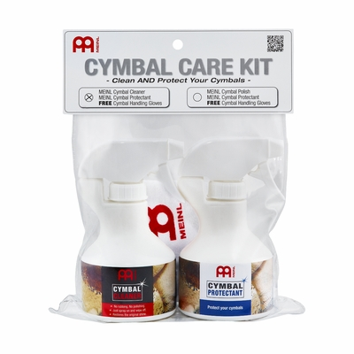 Meinl Cymbal (and Gong) Care Kit (MCCK-MCCL) - FREE SHIPPING