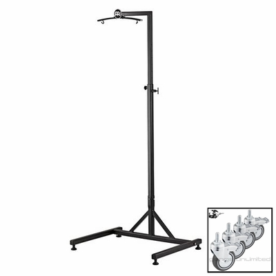 The Meinl Gong/Tam Tam Stand with Wheels (TMGS-W)