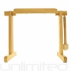 "Tiny Atlas Gong Stand For 6"" to 7"" Gongs (Natural) - FREE SHIPPING"