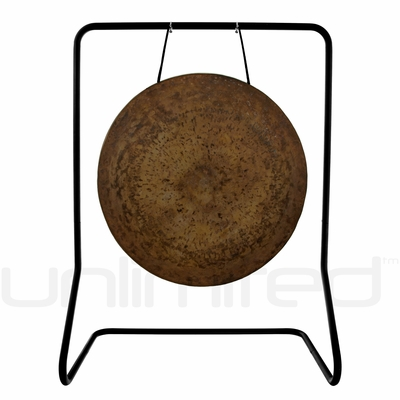 "26"" Atlantis Gong on  UFIP Molto Bella Gong Stand"