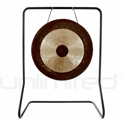"""26"""" Chau Gong on  UFIP Molto Bella  Gong Stand"""