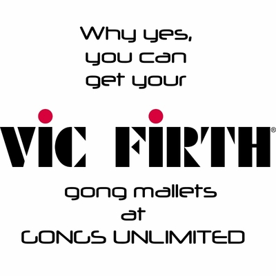 Vic Firth Gong Mallets