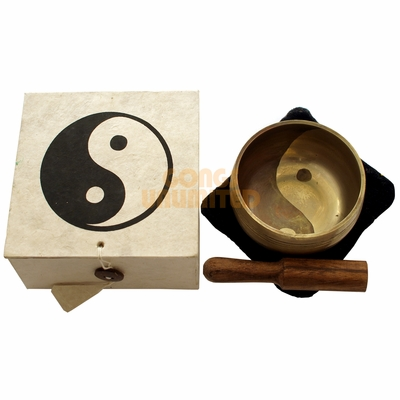 White Yin-Yang Gift Singing Bowl  - SOLD OUT