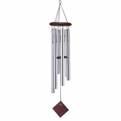 """37"""" Woodstock Chimes of Earth - Silver (DCS37)"""