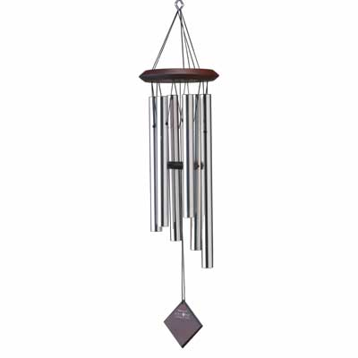 "27"" Woodstock Chimes of Pluto - Silver (DCS27)"