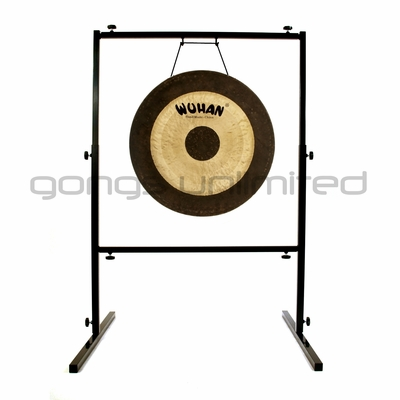 "24"" Wuhan Chau Gong on Rambo Rimbaud Stand - FREE SHIPPING - SOLD OUT"
