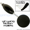 SOLD OUT  Set of 6 Yin Yang Friction Mallets & Vario OTG 5 Handle by TTE Konklang