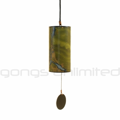 Zaphir Crystalide Wind Chime - Green - FREE SHIPPING