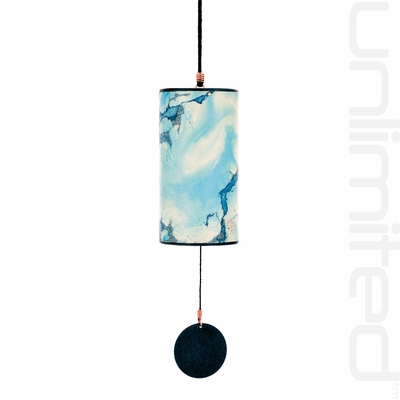 Zaphir Crystalide Wind Chime (color 11) - Ice - FREE SHIPPING