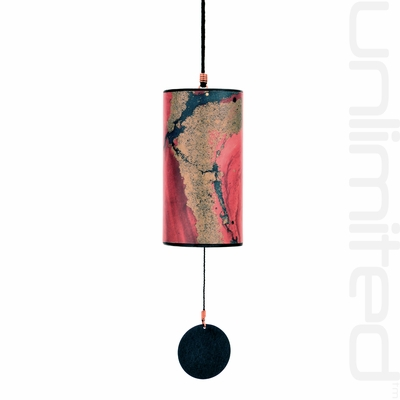 Zaphir Twilight Wind Chime (color 1) - Garnet - FREE SHIPPING