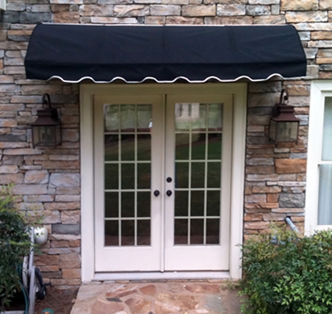 Ezawn Awnings Porch Canopies Quarter Round Awning