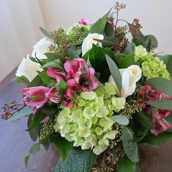 April Hand Tied