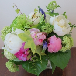 Cheerful Peonies