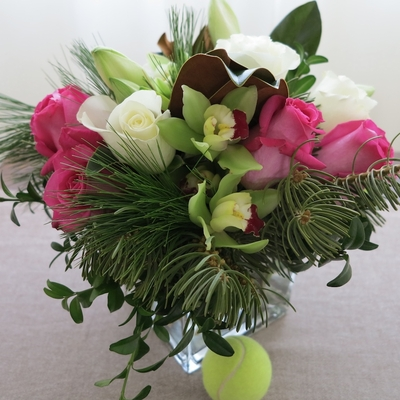 Pink Christmas Bouquet